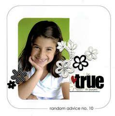 random advice no. 10