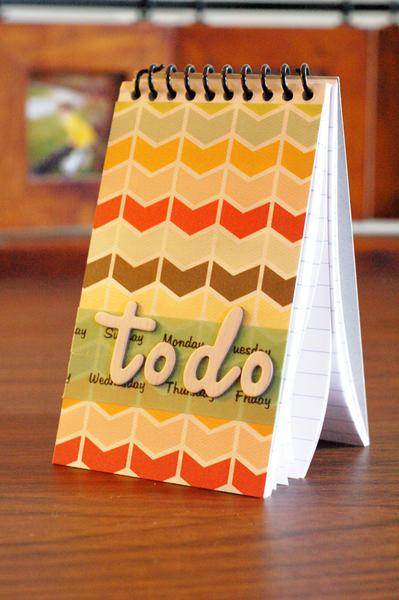 to-do notebook