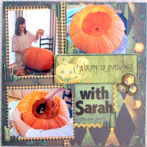 "Carving Pumpkins With Sarah ""Rusty Pickle Thriller"""
