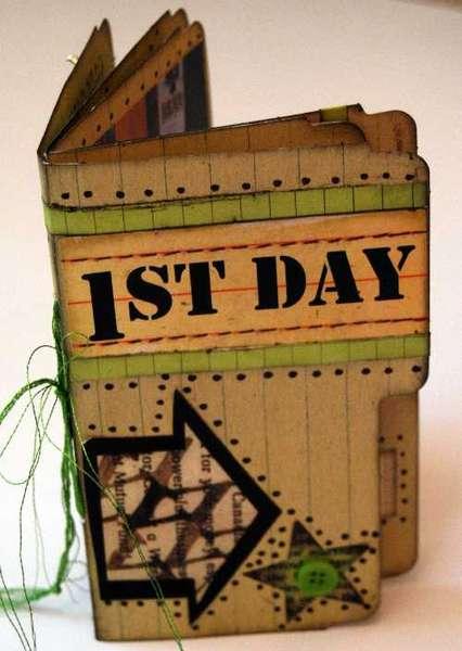 "1st Day ""Rusty Pickle"" File Folder Album Cover"