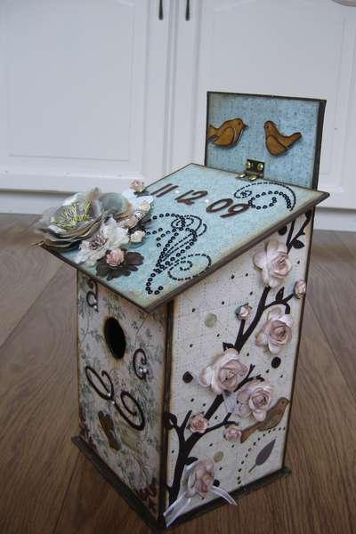 Birdhouse (gift envelope )