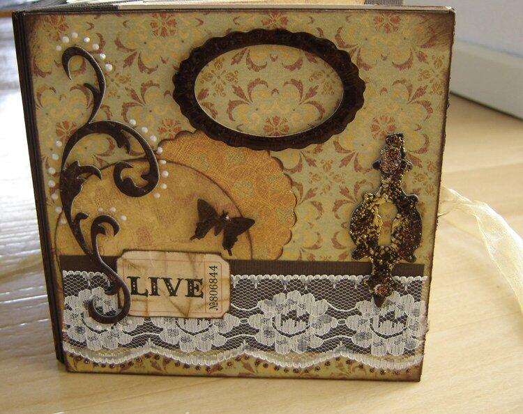 Vintage Staralbum cover  mothersday gift