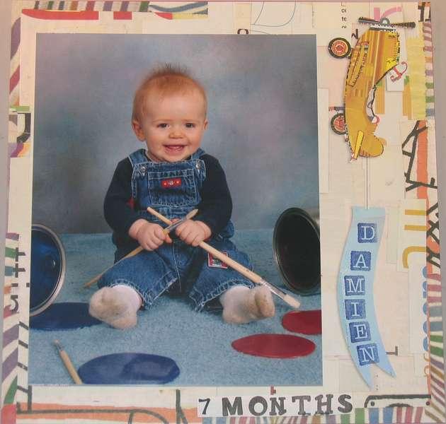 Damien 7 months P1