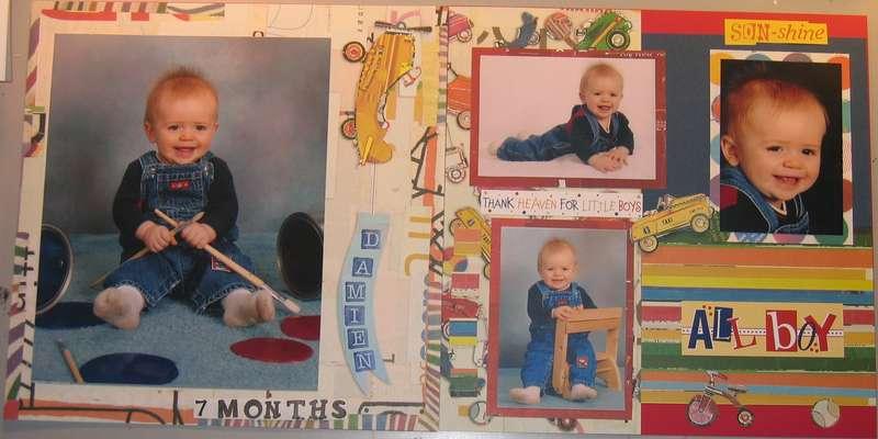 Damien 7 months