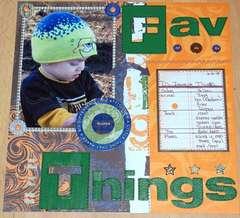 Favorite things D