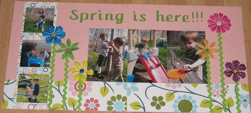 Spring is here!! D