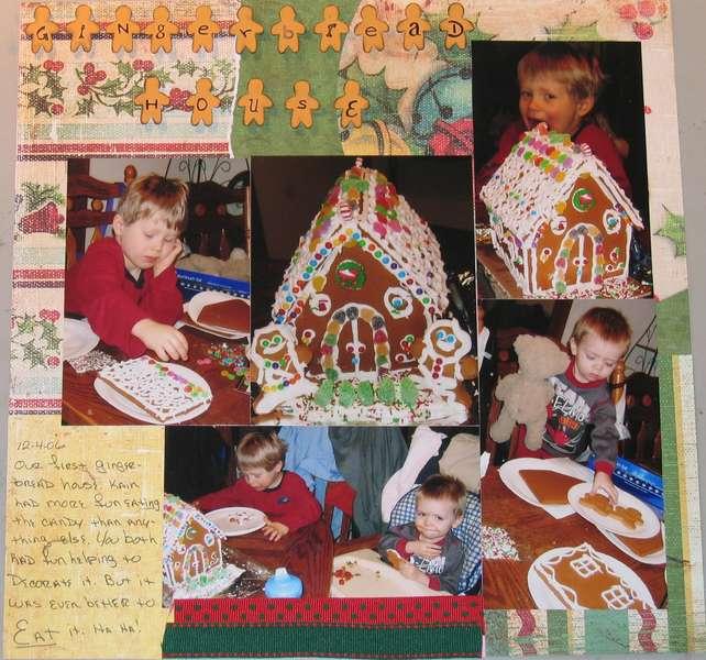 Gingerbread house D