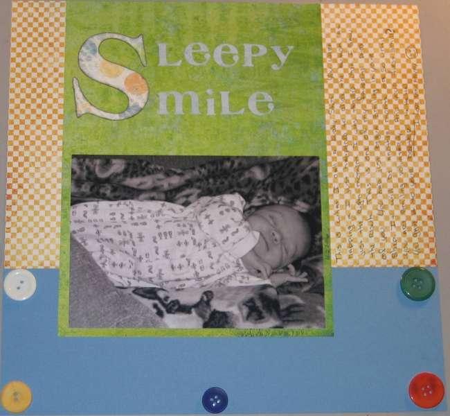 Sleepy Smile