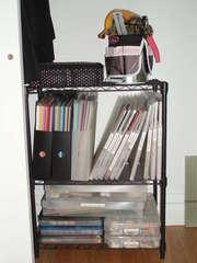 New shelf for closet
