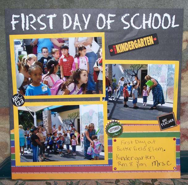 First Day of School PG1