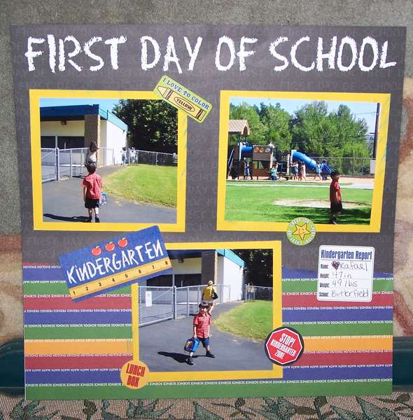First Day of School PG2