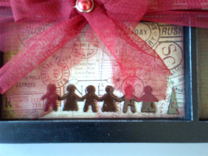 Detail - gingerbread people.