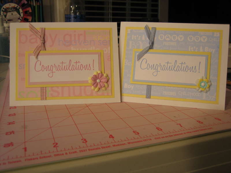 New Year Baby cards