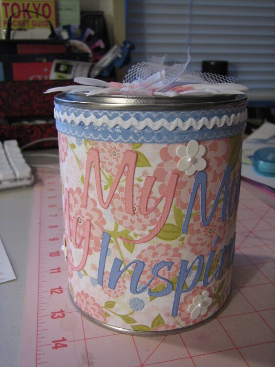 Mother's Day Tin