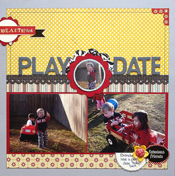 Play Date (Ideas For Scrapbookers)