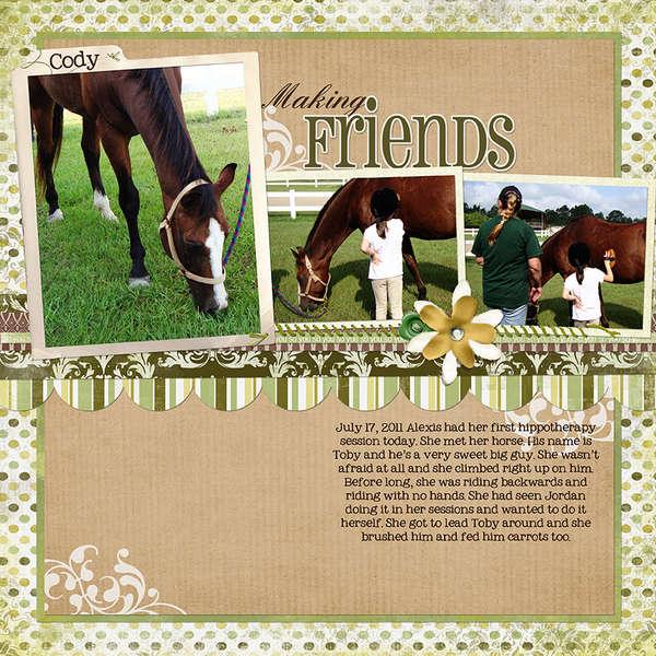 Making Friends (Jessica Sprague/Carina Gardner)