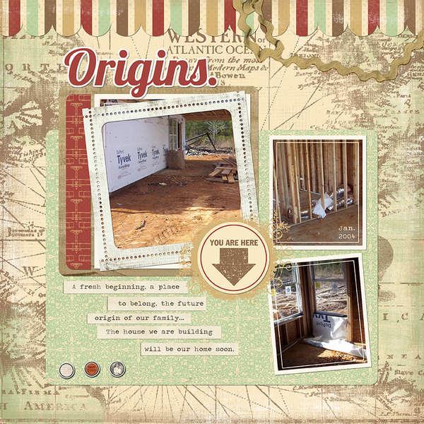 Origins (Jessica Sprague, Carina Gardner)