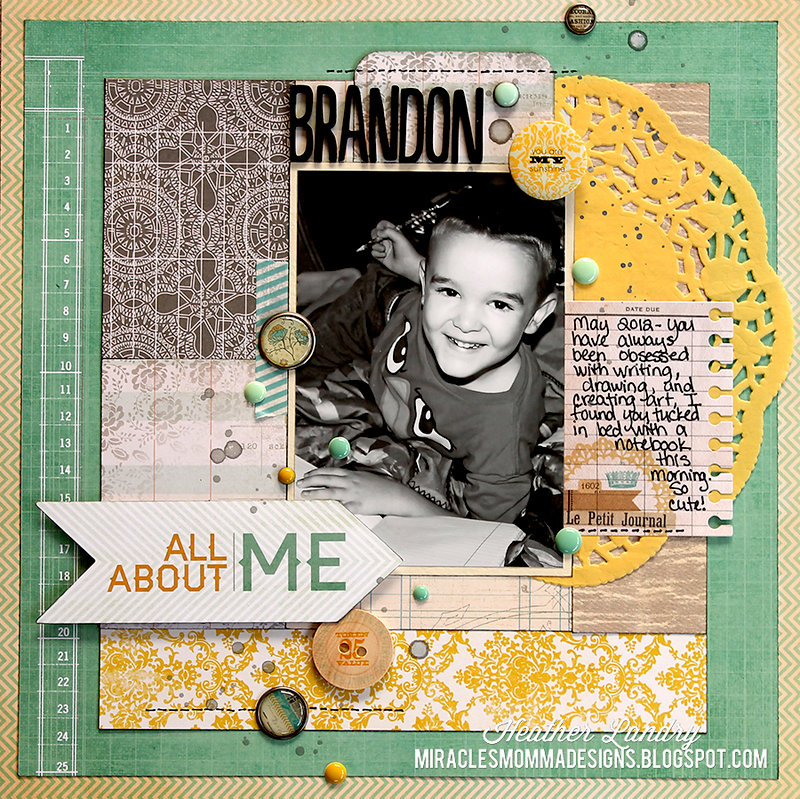 All About Me: Brandon