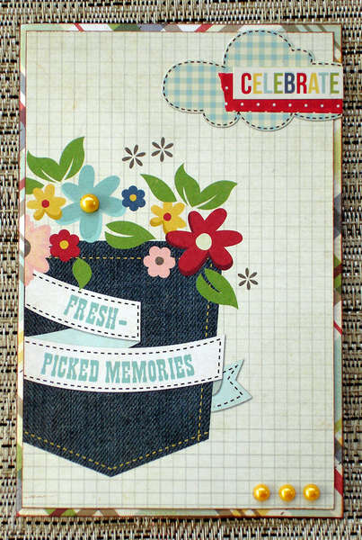 Celebrate Memories Card 1 (Scraptastic Club)