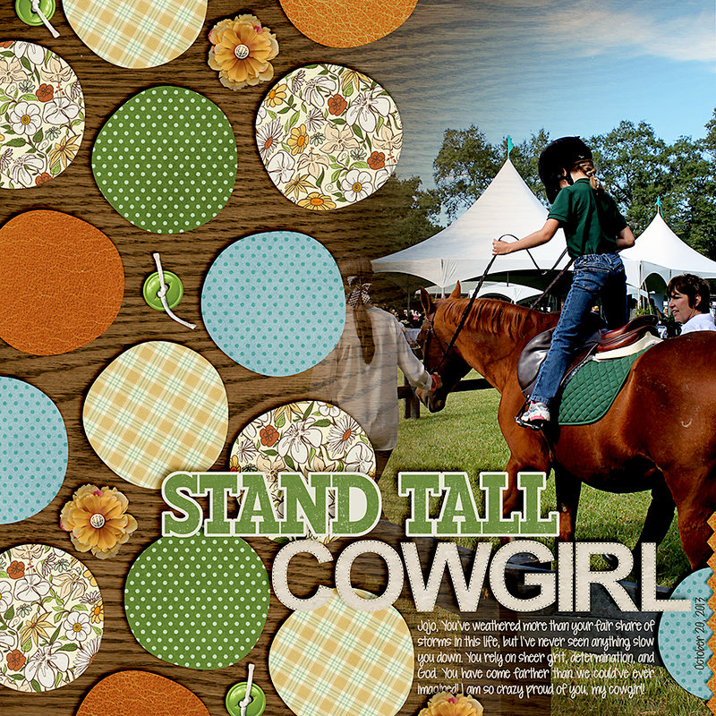 Stand Tall Cowgirl