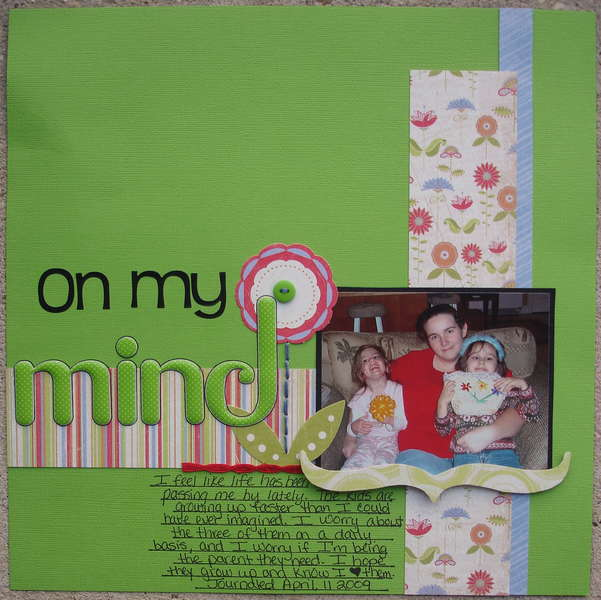 On My Mind Circle Journal Challenge