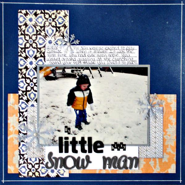 Little Bitty Snow Man