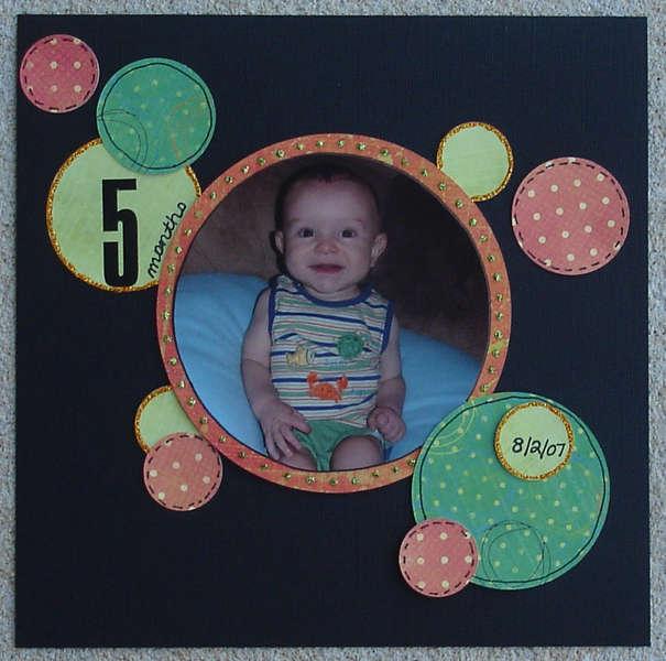 5 Months-Brandon's Baby Album