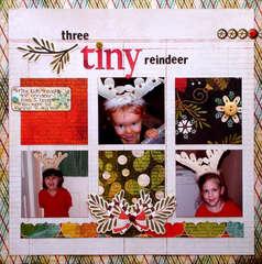 Three Tiny Reindeer