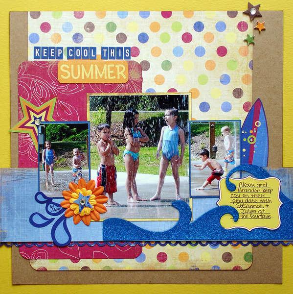 Keep Cool This Summer (Scraptastic Club)
