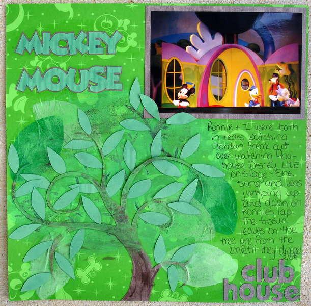 Mickey Mouse Club House-Hybrid Tree