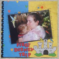 First Disney Trip-Brandon's Baby Album