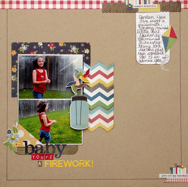 Baby, You're A Firework! (Scraptastic Club)