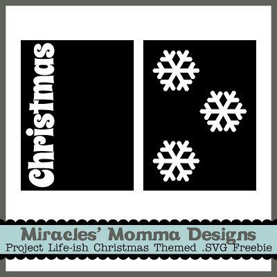 Free Christmas .SVG Card