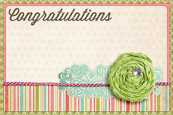 Congratulations Card (Samantha Walker)