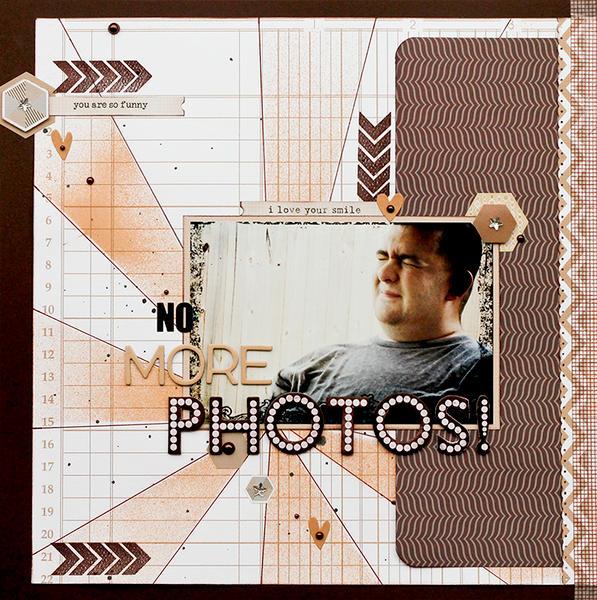 No More Photos!