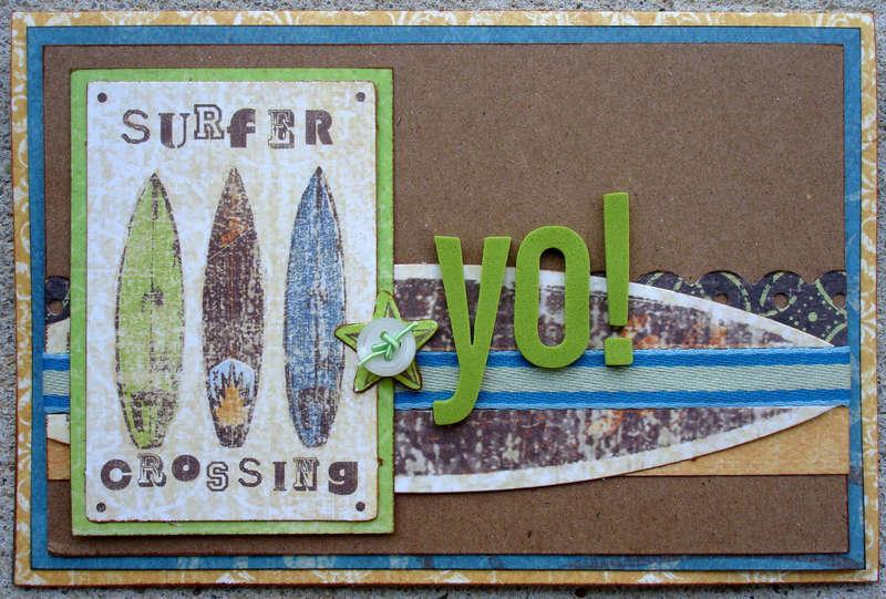 Yo! Card (Scraptastic Club DT)