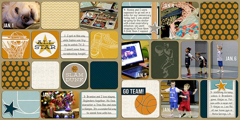 Project Life: 2014 (Jan. 1-7)