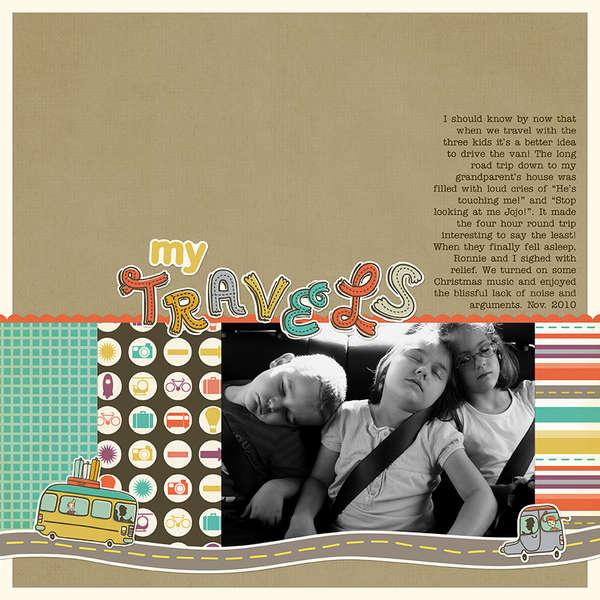 My Travels (Jessica Sprague/Cosmo Cricket Digital)
