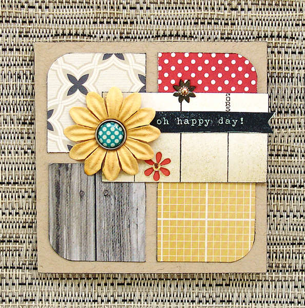 Oh Happy Day Card (Scraptastic Club)