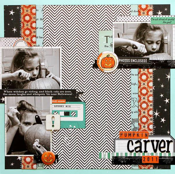 Pumpkin Carver (Scraptastic Club)