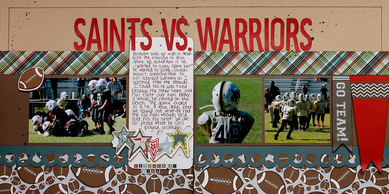 Saints Vs. Warriors