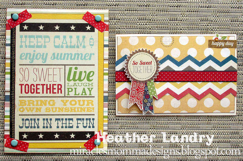 Summer Cards (Scraptastic Club)