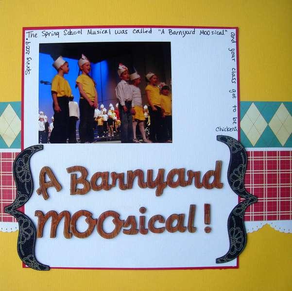 A Barnyard Moosical!