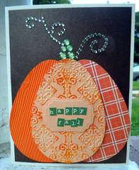 Egg Pumpkin with Bling