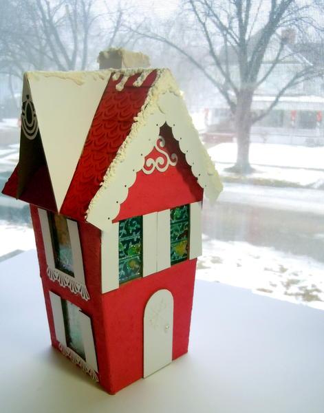 Victorian Christmas home