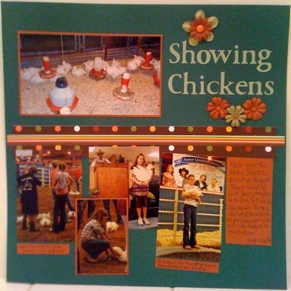 Showing Chickens
