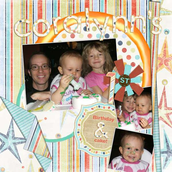 Cora's actual first birthday