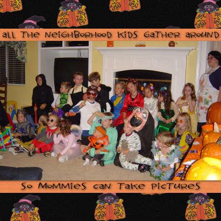 Neighborhood Halloween Party 2003  part 2