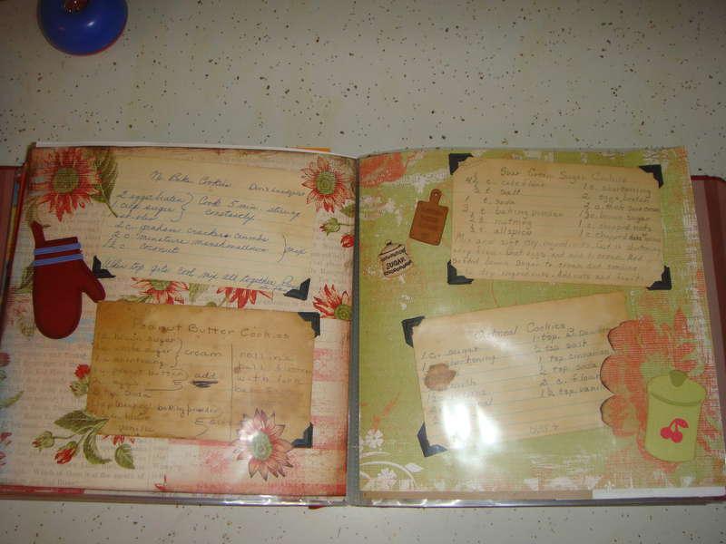 family heirloom  recipe album