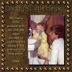 Daddy's little helper